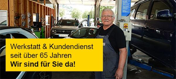 Werkstatt Service Renault Dacia Reutlingen