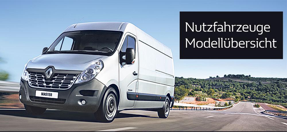 Renault Nutzfahrzeuge NFZ Modellpalette