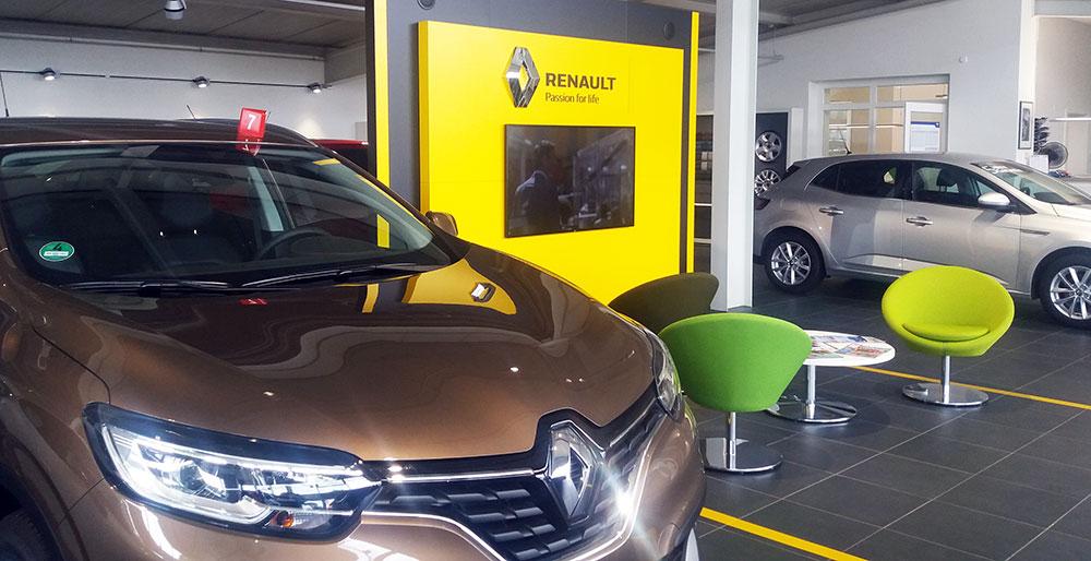 Renault und Dacia Ersatzteile Zubehör Werkstatt Service Kundendienst TÜV ASU