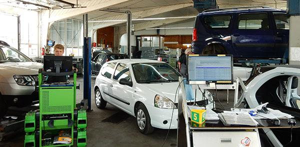 Renault und Dacia Werkstatt Service Reparaturen Kundendienst Reifenwechsel Werkstatt-Service TÜV ASU