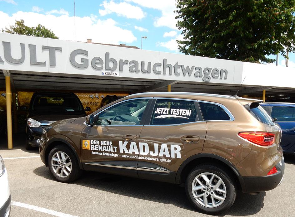Gebrauchtwagen Autohaus Beisswänger Reutlingen